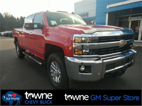 Pre-Owned 2015 Chevrolet Silverado 3500HD LTZ